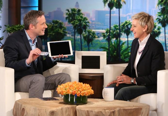 iPad Zauberer Simon Pierro bei Ellen DeGeneres