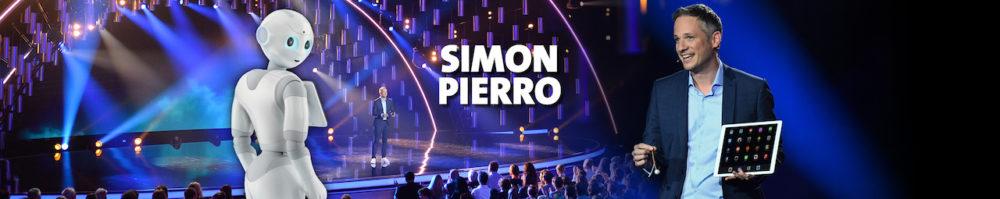 Künstlerische Intelligenz - Simon Pierro Banner