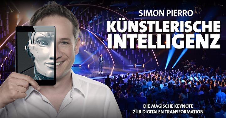 Künstlerische Intelligenz - Speaker Simon Pierro