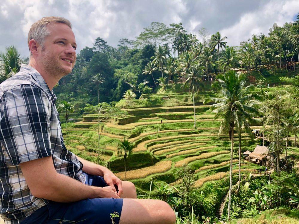 iPad Magie auf Bali