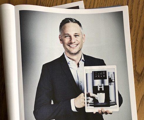 iPad Magie mit Kaffee - Simon Pierro