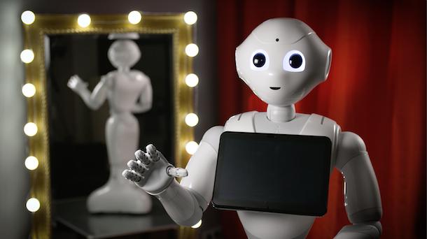 Roboter Pepper lernt Zaubern - mit Simon Pierro