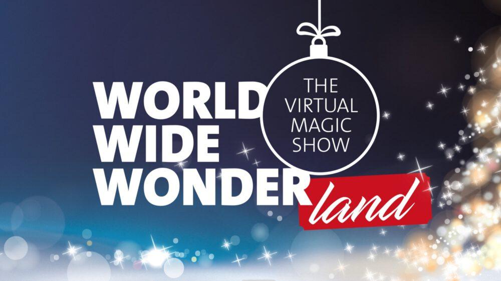 World Wide Wonderland - die virtuelle Zaubershow mit Simon Pierro für Ihre Weihnachtsfeier