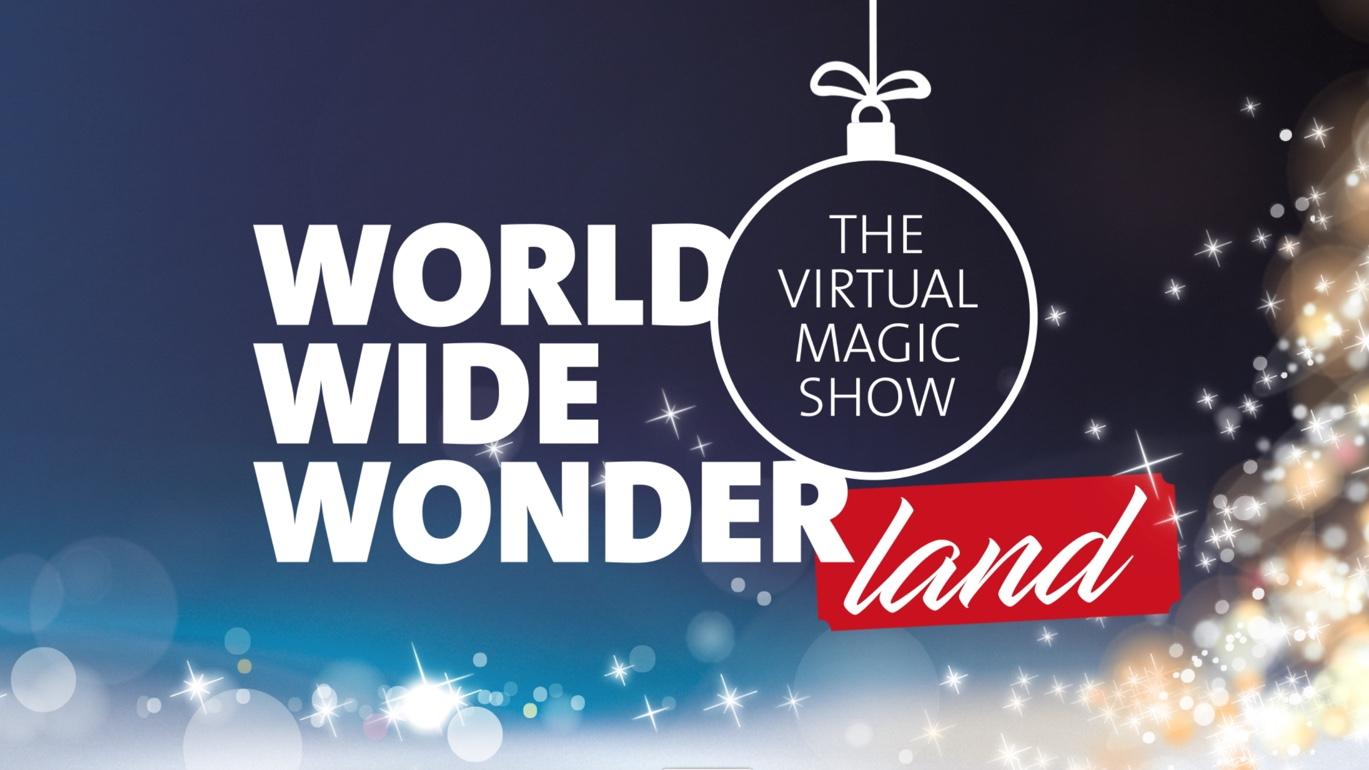 World Wide Wonderland - die virtuelle Zaubershow mit Simon Pierro