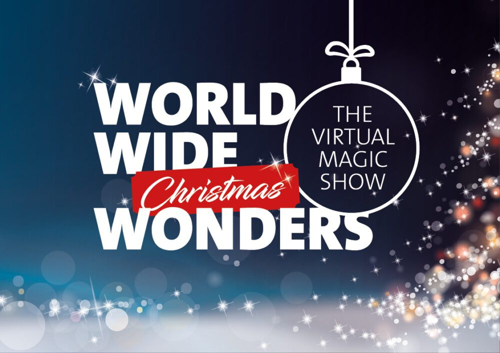 Virtuelle Zaubershow für Weihnachtsfeiern - mit Simon Pierro
