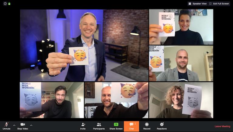 Virtuelle Zaubershow - Interaktive Effekte mit dem iPad Magier Simon Pierro