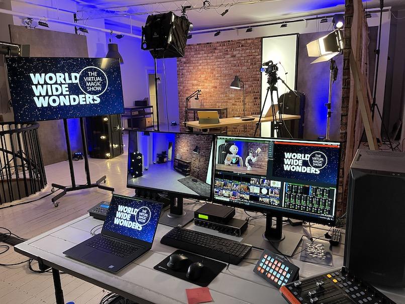 Simon Pierro - Streaming Studio München
